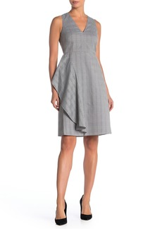 Rachel Roy Glen Drape Sleeveless Dress