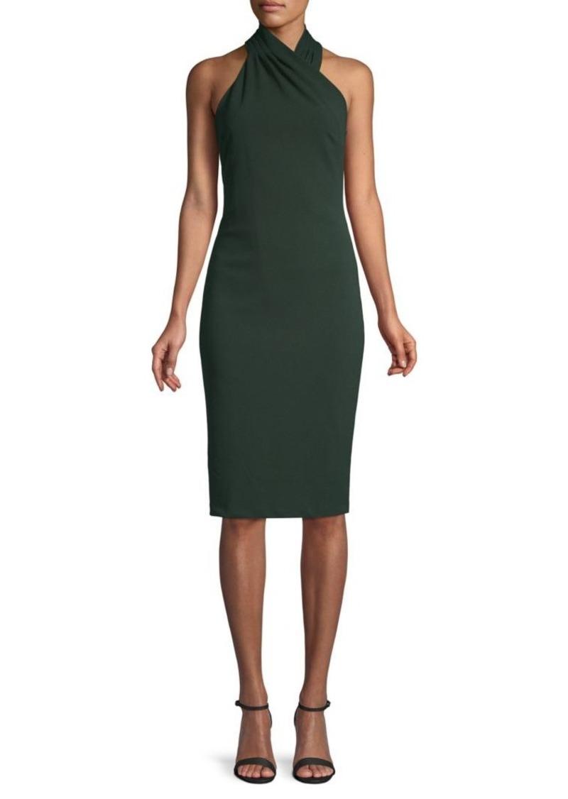 Rachel Roy Halterneck Sheath Dress
