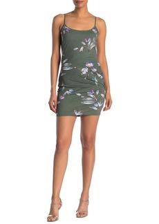 Rachel Roy Lourdes Floral Twist Back Mini Dress