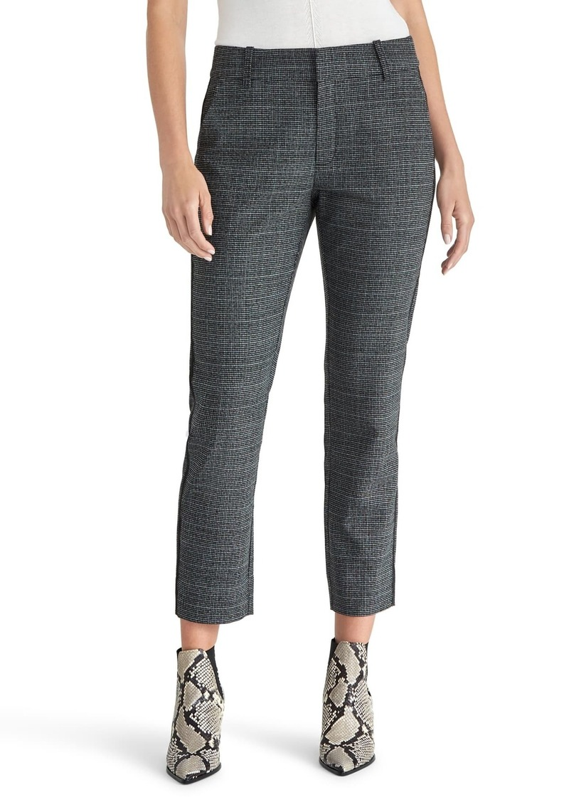 Rachel Roy Microcheck Ankle Pants