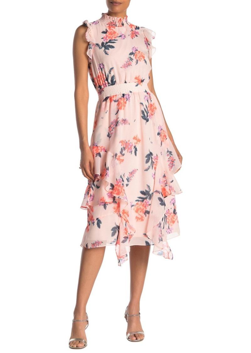 Rachel Roy Nakita Floral Midi Dress