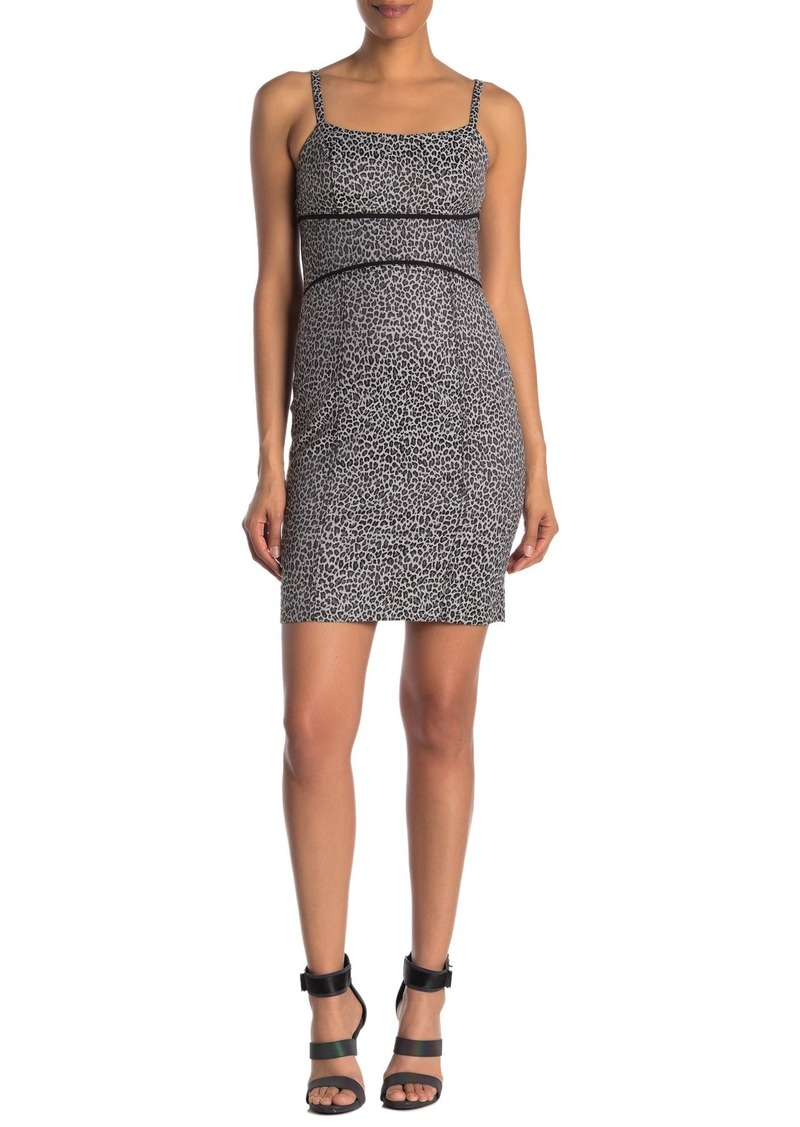 Rachel Roy Natasha Leopard Print Mini Dress (Regular & Plus Size)