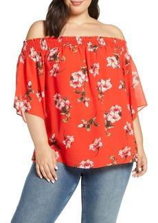 Rachel Roy Off-The-Shoulder Top (Plus Size)