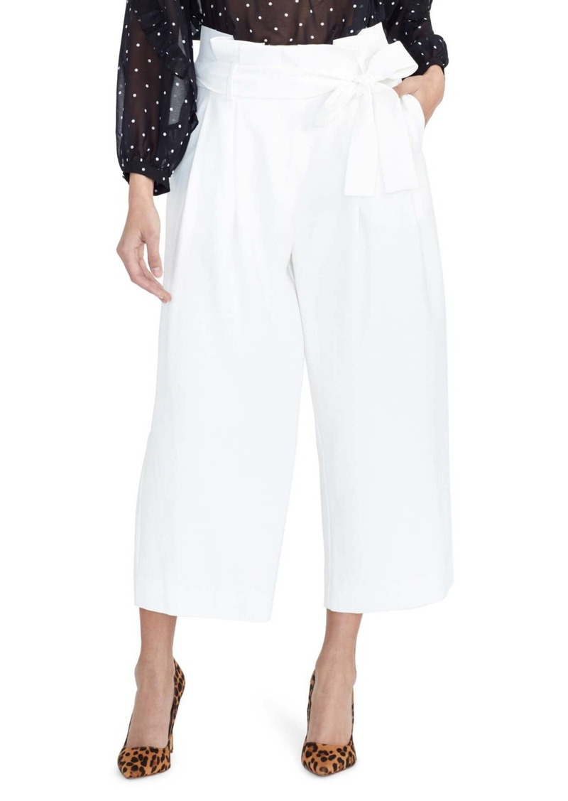 Rachel Roy Paperbag Waist Crop Pants (Regular & Plus Size)