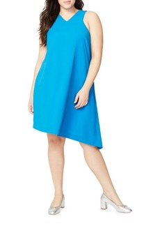 Rachel Roy Plus Pleated Front Dress