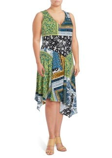 Rachel Roy Plus Citron Shift Dress