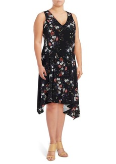 Rachel Roy Printed Sleeveless Dress