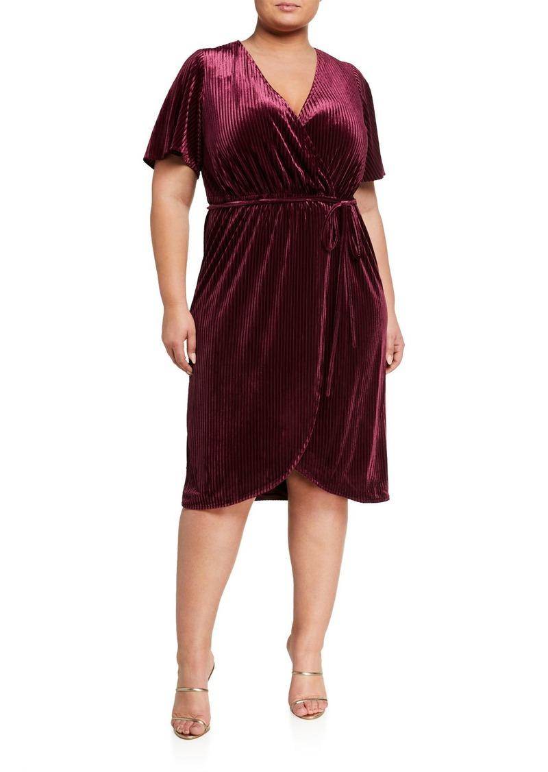 Rachel Roy Plus Size Nomi Wrap Dress
