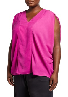Rachel Roy Plus Size Rima Draped Top