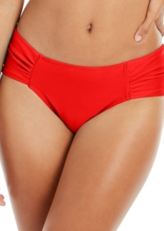 Rachel Rachel Roy Boardwalk Basics Ruched-Side Bikini Bottoms Women's Swimsuit