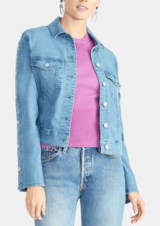 Rachel Rachel Roy Bobbi Snap-Sleeve Denim Jacket