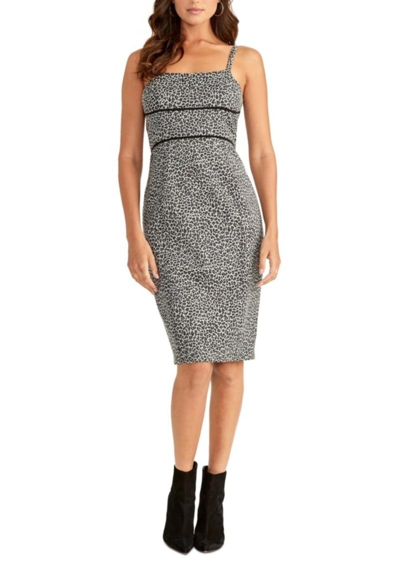 Rachel Rachel Roy Body-Con Printed Dress