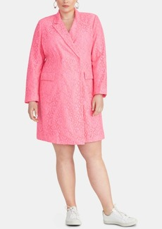 Rachel Rachel Roy Darla Plus Size Lace Blazer Dress
