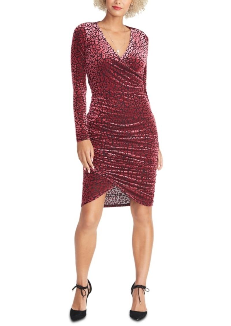 Rachel Rachel Roy Fitted Leopard Print Dress
