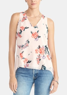 Rachel Rachel Roy Floral-Print High-Low Top