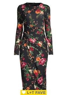 RACHEL Rachel Roy Floral-Print Sheath Dress