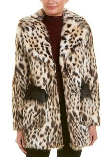 Rachel Rachel Roy Fuzzy Coat