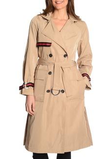 RACHEL Rachel Roy Grosgrain Trench Coat