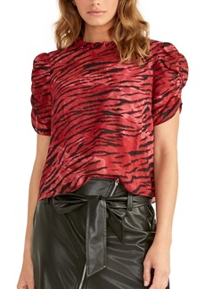 Rachel Rachel Roy Hanna Ruched-Sleeve Top