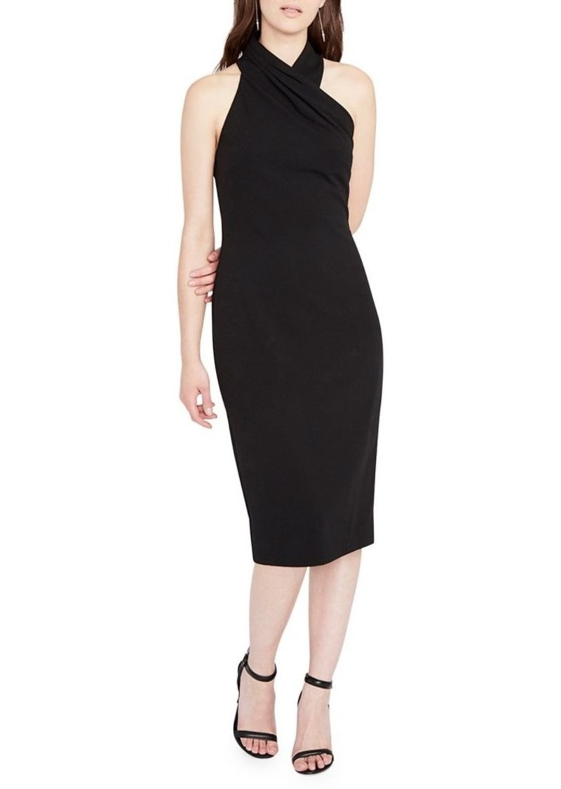 RACHEL Rachel Roy Harland Cross-Front Halter Dress