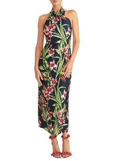 RACHEL Rachel Roy Harland Floral-Print Jersey Maxi Dress
