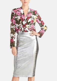 Rachel Rachel Roy Iggy Metallic Pencil Skirt, Created for Macy's