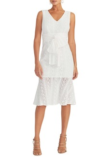 RACHEL Rachel Roy Lace Sheath Dress