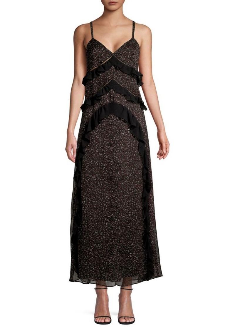 RACHEL Rachel Roy Leta Ruffled A-Line Dress