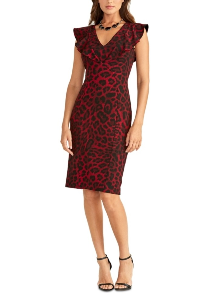 Rachel Rachel Roy Lydia Animal-Print Dress