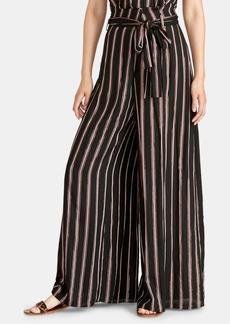 Rachel Rachel Roy Naida Striped Wide-Leg Wrap Pants