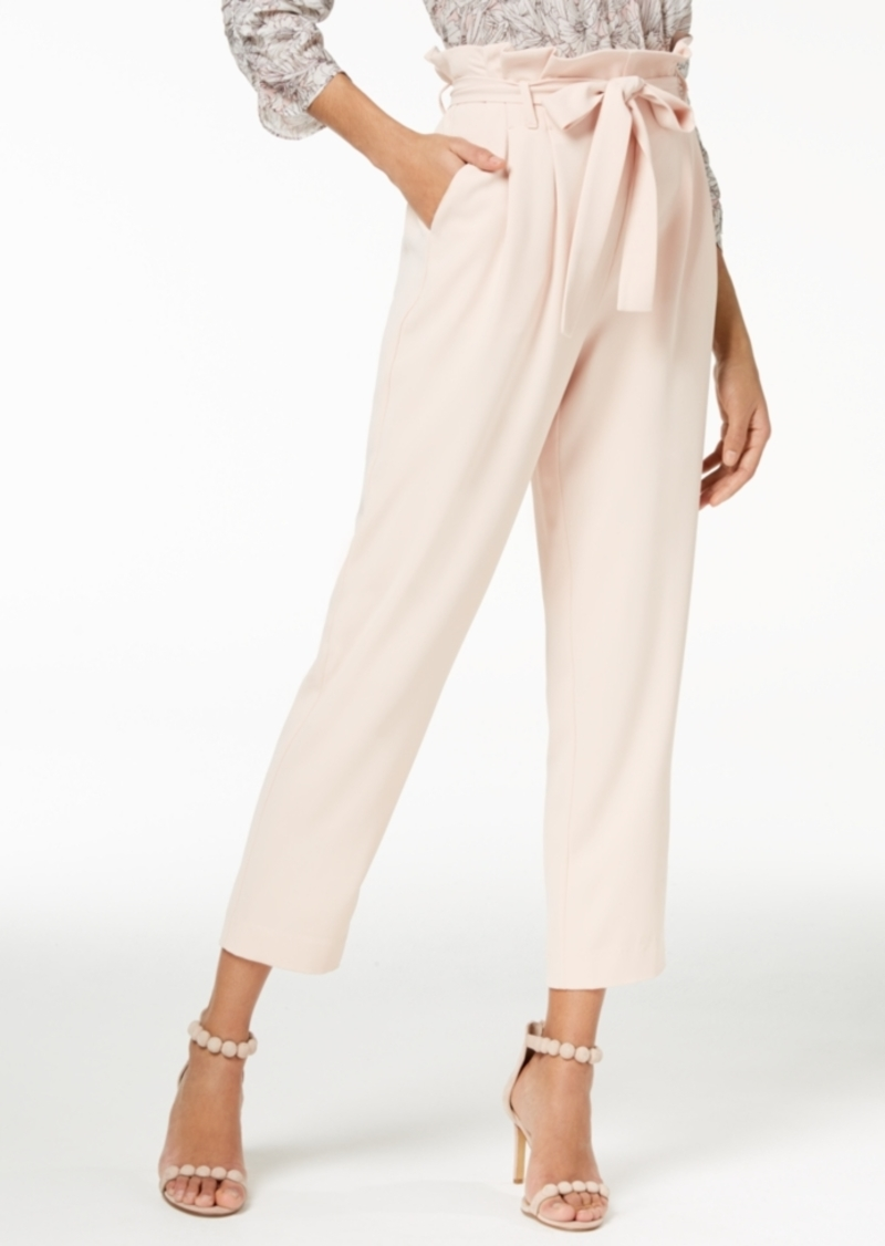 Rachel Rachel Roy Paper Bag Tapered Pants