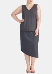 Rachel Rachel Roy Plus Size Emmy Asymmetrical Skirt