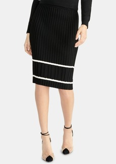 Rachel Rachel Roy Ribbed Pencil Sweater Skirt