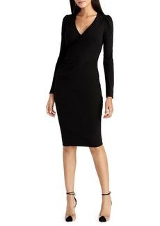 RACHEL Rachel Roy Romy Surplice Sheath Dress