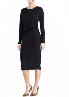 RACHEL Rachel Roy Ruched Waist Midi Dress