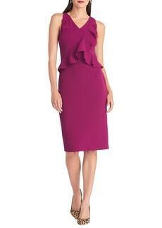 RACHEL Rachel Roy Ruffle Sheath Dress