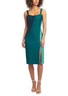 RACHEL Rachel Roy Sleeveless Colorblock Sheath Dress