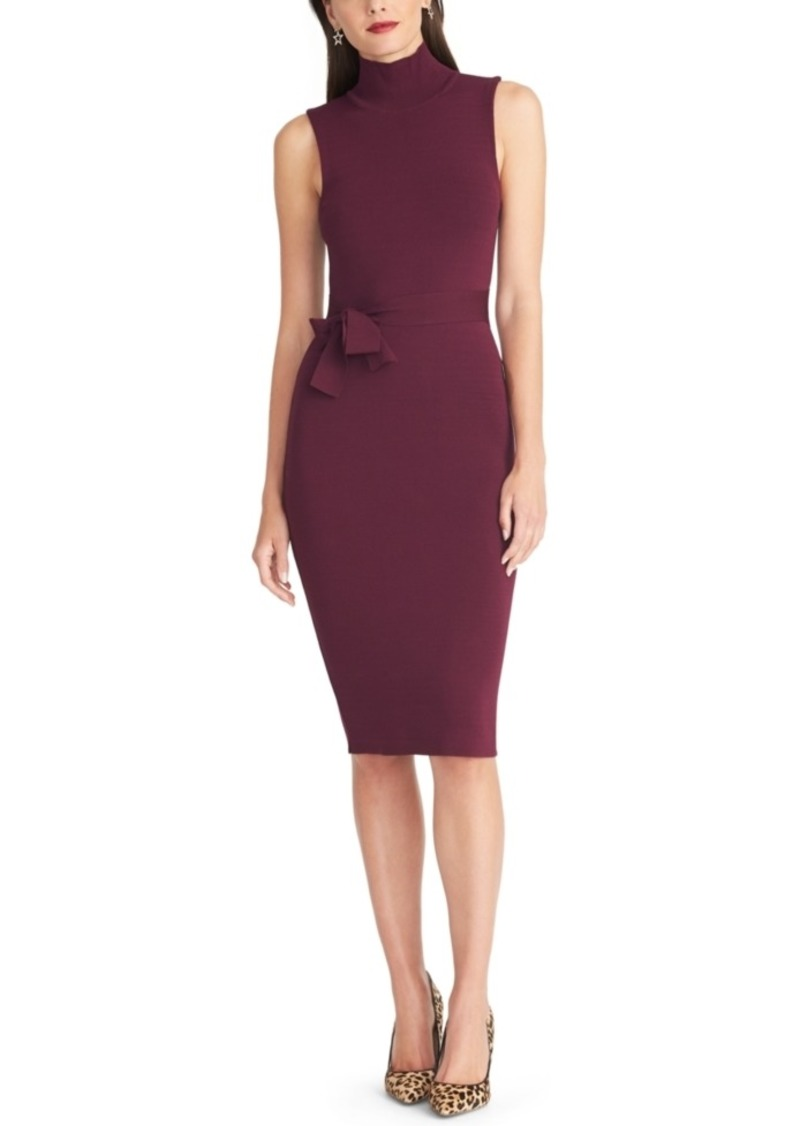 Rachel Rachel Roy Sleeveless Turtleneck Bodycon Dress