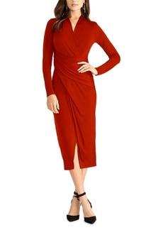 Rachel Rachel Roy Solid Bret Jersey Midi Dress