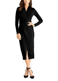 Rachel Rachel Roy Solid Bret Jersey Midi Dress