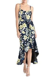 RACHEL Rachel Roy Tie Waist High/Low Dress