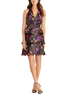 Rachel Rachel Roy Tiered Floral Jacquard Dress