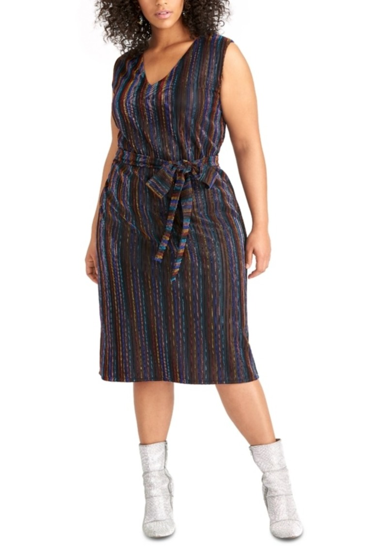 Rachel Rachel Roy Trendy Plus Size Erma Dress