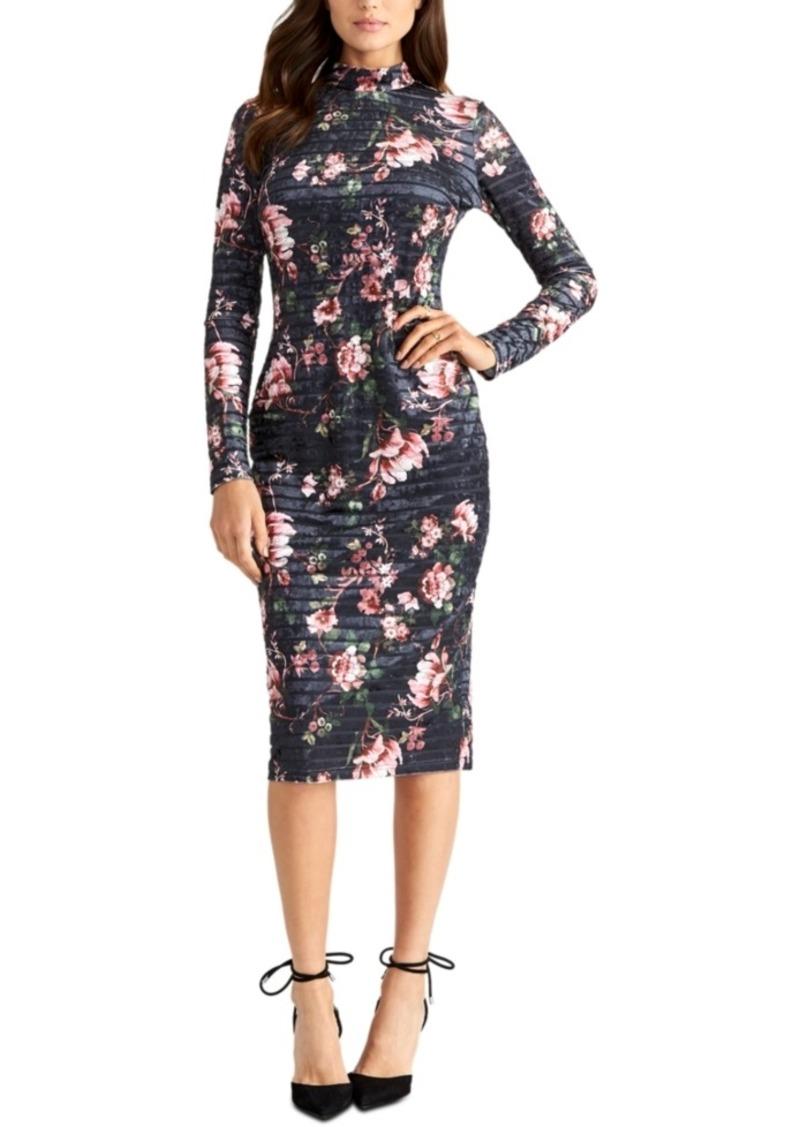 Rachel Rachel Roy Velvet-Stripe Dress