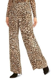 Rachel Rachel Roy Wide-Leg Cheetah-Print Pants