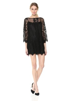 RACHEL Rachel Roy Women's Bell Sleeve Lace Dress