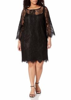 RACHEL Rachel Roy Women's Bell Sleeve Lace Dress