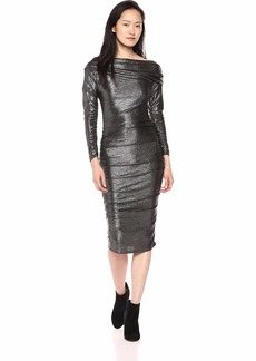 RACHEL Rachel Roy Women's Gigi Drape Dress  L