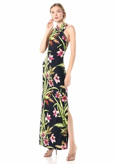 RACHEL Rachel Roy Women's Harland Jersey Maxi Dress  XXL
