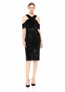 RACHEL Rachel Roy Women's Jolie Velvet Dress  XXL